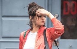 Selena Gomez lôi cuốn trên phim trường