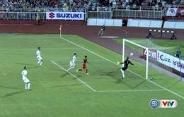 VIDEO: Văn Thanh sút xa khiến thủ môn ĐT Jordan cản phá vất vả