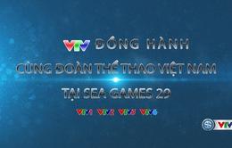 CHÍNH THỨC: Lịch trực tiếp các môn thi đấu tại SEA Games 29 trên VTV