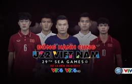 CHÍNH THỨC: Lịch tường thuật trực tiếp môn bóng đá nam SEA Games 29 trên VTV