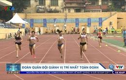 Giải điền kinh Hà Nội mở rộng 2017: Đoàn Quân đội giành vị trí nhất toàn đoàn