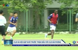 Vòng 14 Giải VĐQG V.League 2017: CLB Hà Nội gặp khó trước trận đấu với CLB Hải Phòng