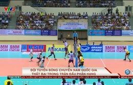 ĐT bóng chuyền nam Việt Nam thất bại trong trận đấu phân hạng