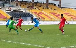 Bóng đá nam SEA Games 29, Bảng A: U22 Lào 0-2 U22 Singapore, U22 Myanmar 6-0 U22 Brunei