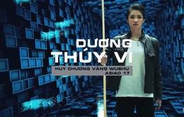 """VIDEO: Dương Thúy Vi """"đóng phim hành động"""" cùng Hoàng Xuân Vinh cực chất"""