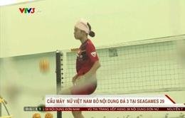 SEA Games 29: Vì sao Cầu mây nữ Việt Nam bỏ nội dung đá 3 người?