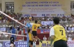 Giải vô địch bóng chuyền các CLB nam châu Á 2017: Giành chiến thắng thuyết phục, ĐT Việt Nam đoạt ngôi đầu bảng