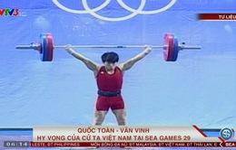 Quốc Toàn - Văn Vinh: Hy vọng của cử tạ Việt Nam tại SEA Games 29