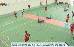 ĐT Cầu mây nữ Việt Nam thu hoạch sau giải tiền SEA Games