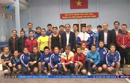 Bộ Văn hóa, Thể thao và Du lịch động viên các đội tuyển tại TTHLTTQG Hà Nội