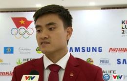 VIDEO: Các VĐV Việt Nam đặt mục tiêu cao cho SEA Games 29