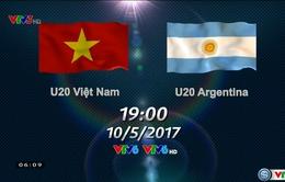 19h00 hôm nay (10/5), Trực tiếp Giao hữu quốc tế, U20 Việt Nam - U20 Argentina trên VTV6 & VTV6HD