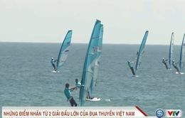 Những điểm tích cực từ giải đua thuyền và lướt ván buồm Việt Nam 2017