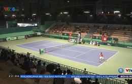 Ngày đầu tiên Davis Cup giữa ĐT quần vợt Việt Nam và ĐT quần vợt Hồng Kông (Trung Quốc)