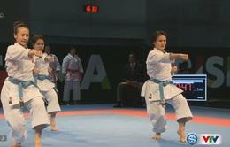 VIDEO SEA Games 29: ĐT Karatedo giành HCV kata đồng đội nữ