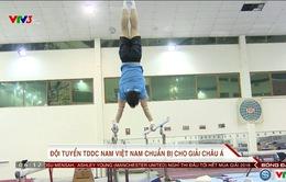 ĐT TDDC nam Việt Nam chuẩn bị cho giải vô địch châu Á