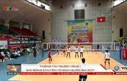 Nhận định trước vòng 1 Giải bóng chuyền VĐQG 2017