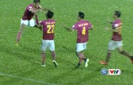 VIDEO: Tiến Duy ghi bàn vào lưới CLB Long An từ giữa sân