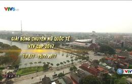 Hải Dương tích cực chuẩn bị cho Giải bóng chuyền nữ Quốc tế VTV Cup Tôn Hoa Sen 2017