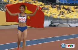 VIDEO SEA Games 29: Nguyễn Thị Oanh giành HCV chạy 1500m nữ