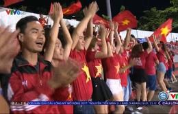Người hâm mộ hài lòng về lối chơi của U23 Việt Nam