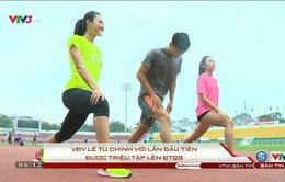 VĐV Lê Tú Chinh với lần đầu tiên được triệu tập lên ĐTQG