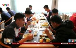 Câu chuyện thể thao: Các cầu thủ U20 Việt Nam và chế độ dinh dưỡng hoàn hảo tại Đức