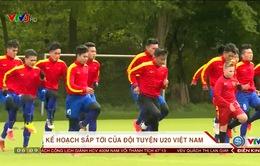 ĐT U20 Việt Nam và kế hoạch sắp tới cho chiến dịch VCK U20 World Cup 2017