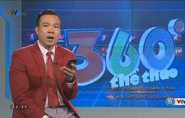 """VIDEO: Nhà vô địch Olympic Hoàng Xuân Vinh cùng các VĐV Việt Nam hát tặng mừng sinh nhật """"360 độ thể thao"""" tuổi 12"""