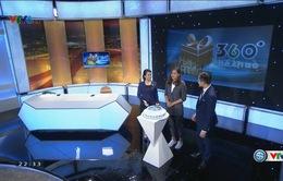"""VIDEO: Xem lại bản tin """"360 độ thể thao"""" số đặc biệt - sinh nhật tuổi 12"""