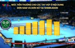 Số tiền thưởng của Wimbledon thay đổi thế nào qua các năm?