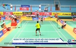Giải vô địch cầu lông đồng đội toàn quốc 2017: Đoàn TP. Hồ Chí Minh và Hà Nội vào chung kết