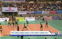 Ngược dòng đánh bại Tràng An Ninh Bình, Thể Công giành hạng 3 Cúp Hùng Vương