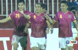 CLB Sài Gòn 4-0 CLB Long An: Chiến thắng thuyết phục!