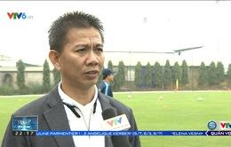 VIDEO: HLV Hoàng Anh Tuấn và những chia sẻ trước lễ bốc thăm chia bảng U20 World Cup 2017