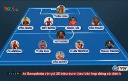 VIDEO: Đội hình dự kiến của ĐT Việt Nam trong trận gặp ĐT Jordan