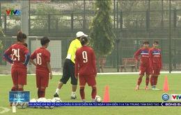 ĐT nữ Việt Nam chuẩn bị cho trận đấu quan trọng gặp Myanmar