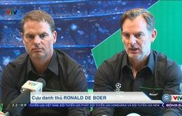 VIDEO: Thể Thao VTV và cuộc trò chuyện cùng 2 anh em danh thủ De Boer