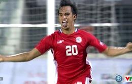 Bóng đá nam SEA Games 29 bảng B, U22 Philippines 2-0 U22 Campuchia: Thắng lợi bất ngờ