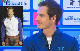 """Andy Murray: """"Federer nên thử mặc váy truyền thống của Scotland"""""""