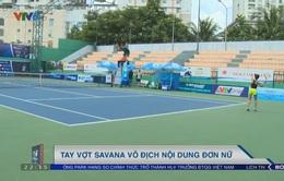 Giải quần vợt VĐQG 2017:Savana Lý Nguyễn vô địch nội dung đơn nữ
