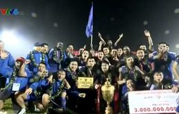 VIDEO: CLB Quảng Nam nâng cao cúp vô địch giải VĐQG V.League