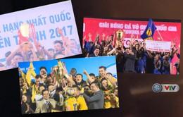 Gala trao giải các giải bóng đá chuyên nghiệp Việt Nam 2017: Tôn vinh những cái tên xuất sắc