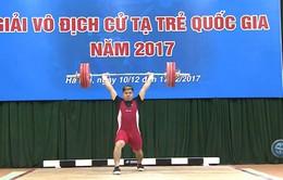 Những điểm nhấn tại giải vô địch cử tạ trẻ quốc gia 2017