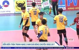 Giải bóng chuyền VĐQG 2017: Tràng An Ninh Bình giành thắng lợi kịch tính trong trận tranh hạng Ba