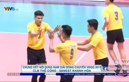 Thắng kịch tính CLB Thể Công, Sanest Khánh Hoà giành chức vô địch giải bóng chuyền VĐQG 2017