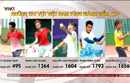 Những tay vợt Việt Nam từng giành điểm ATP