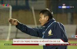 V. League 2017: Sai sót của trọng tài và nỗi khổ của các CLB