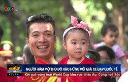 Người hâm mộ thủ đô hào hứng với ngày khai mạc Giải xe đạp quốc tế VTV Cup Tôn Hoa Sen 2017