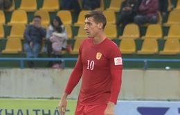 V.League 2017: Cảm xúc ngày tái ngộ của Văn Việt và Dyachenko